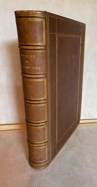[GRANDVILLE] Jean de La FONTAINE. Fables....
