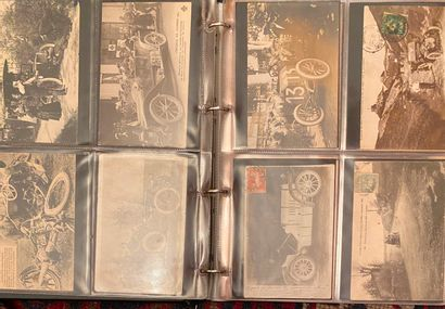 [CARTES POSTALES ANCIENNES]  Album de cartes...