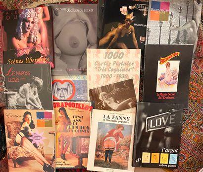 [Curiosa] Lot de 35 ouvrages dont catalogues...