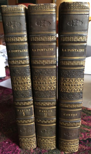 Jean de LA FONTAINE. Fables. Paris, Eymery,...