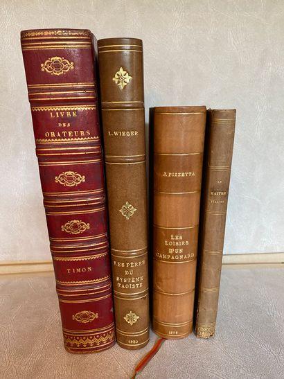[Varia] Lot de 4 volumes :  - VENERONI. Le...