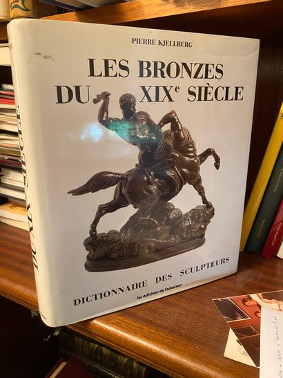 [Bibliographie - Sculpture] Lot de 3 ouvrages...