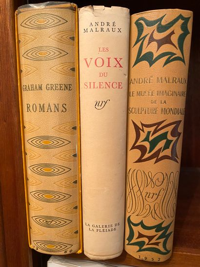 [Littérature] Lot de 3 volumes :  - MALRAUX....