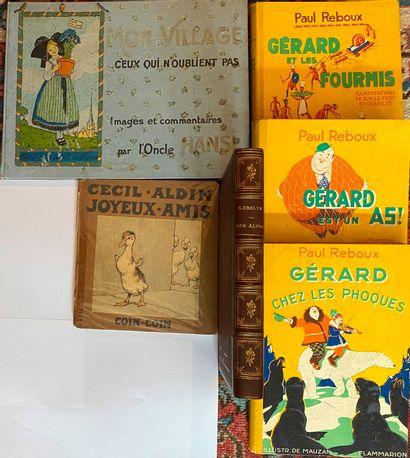 [ENFANTINA] Lot de 6 ouvrages d'enfantina...
