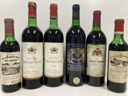 MARGAUX CHAT. PONTAC LYNCH  ROUGE 75CL...