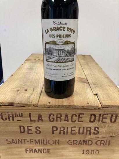 ST EMILION GD CRU LA GRACE DIEU DES PRIEURS...