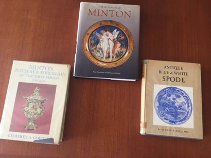 THE DICTIONARY OF MINTON. Paul Atterbury...