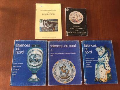 FAIENCES DU NORD. 1/2/3 VOLUMES. ABC COLLECTION...