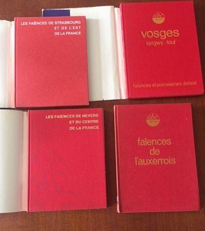 FAIENCES DE L'AUXERROIS ABC COLLECTION. 1978. -FAIENCES DE NEVERS ET DU CENTRE DE...