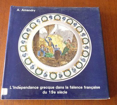 -L'indépendance GRECQUE dans la faïence française...
