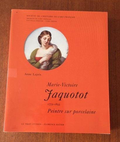 MARIE VICTOIRE JACQUOTOT. 1772/1855. Peintre...