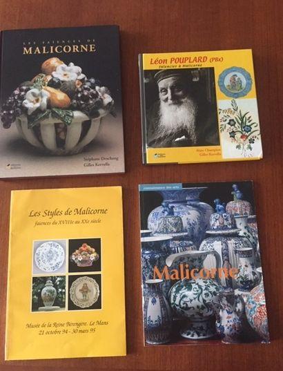 LES STYLES DE MALICORNE FAIENCES du XVIIIe...