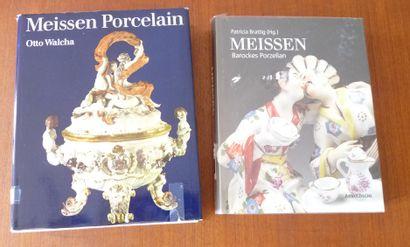 MEISSEN PORCELAIN.  Otto WALCHA.  ED STUDIO...