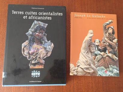 TERRES CUITES ORIENTALISTES ET AFRICANISTES.1860/1940....