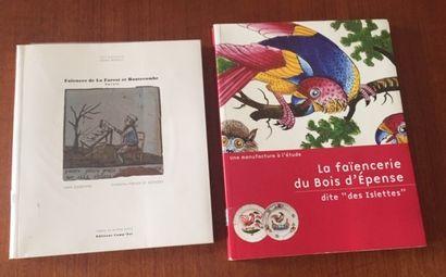 FAIENCES DE LA FOREST ET HAUTECOMBE Savoie....