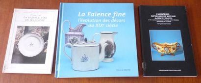 LA FAIENCE FINE EN WALLONIE.  Christiane...