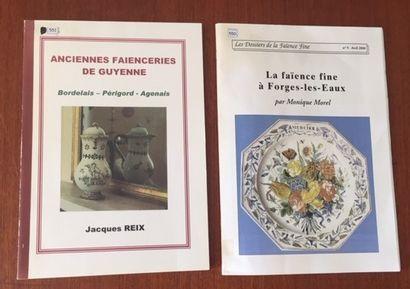 ANCIENNES FAIENCERIES DE GUYENNE. BORDELAIS.PERIGORD....