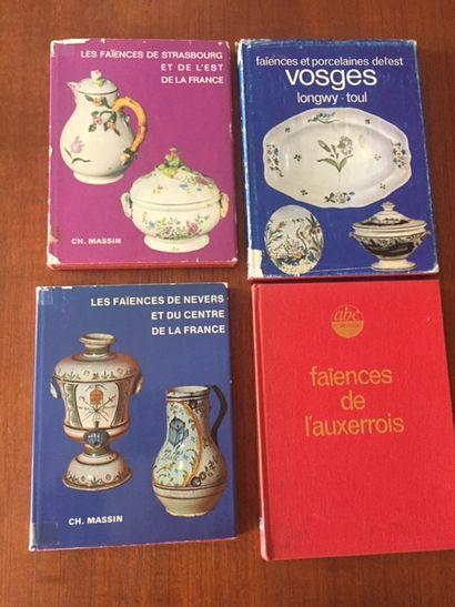 FAIENCES DE L'AUXERROIS ABC COLLECTION. 1978....