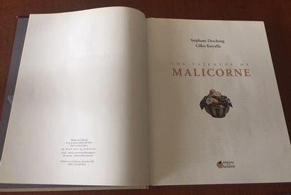 LES STYLES DE MALICORNE FAIENCES du XVIIIe au XXe siècle.    CATALOGUE d'exposition...
