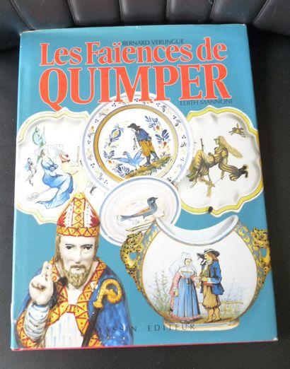 Les FAIENCES DE QUIMPER. Bernard VERLINGUE....
