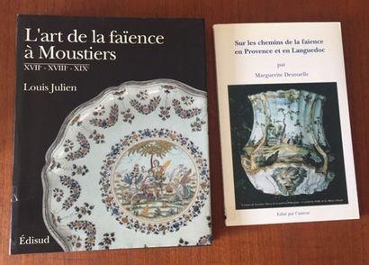 L'ART DE LA FAIENCE A MOUSTIERS XVII-XVIII-XIX°S...