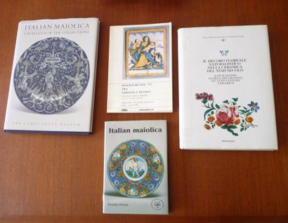 ITALIAN MAIOLICA Catalogue OF the collections...