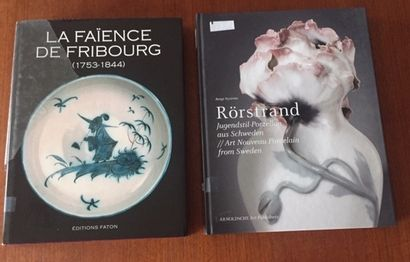 -LA FAIENCE DE FRIBOURG 1753/1844.COLLECTIF....