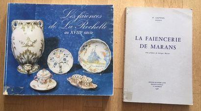 LES FAIENCES DE LA ROCHELLE AU XVIIIe SIECLE....