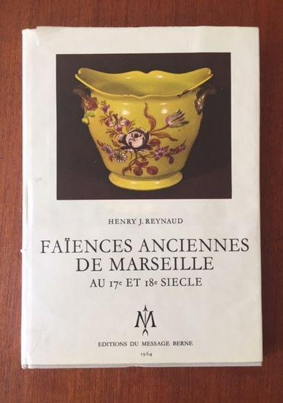 FAIENCES ANCIENNES DE MARSEILLE.AU 17° ET...