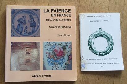 LA FAIENCE EN FRANCE DU XIVe au XIXe SIECLE....