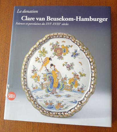 La donation CLARE VAN BEUSEKOM HAMBURGER...