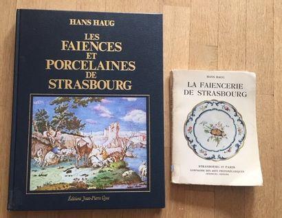 LES FAIENCES ET PORCELAINES DE STRASBOURG....