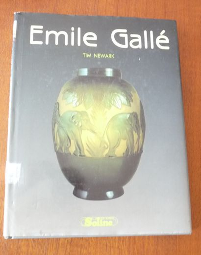 EMILE GALLE.  Tim NEWARK  ED SOLINE 1990