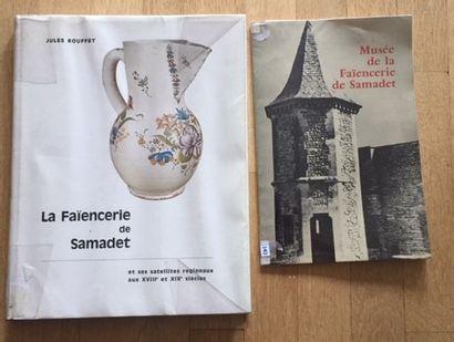 Catalogue Musée de la Faïencerie de SAMADET....
