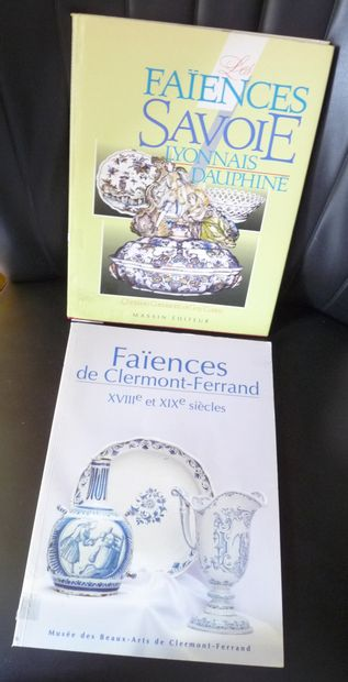 FAIENCES DE CLERMONT FERRAND XVIIIe et XIXe...
