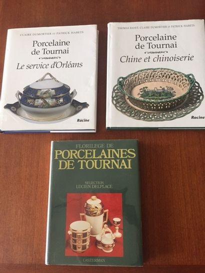 FLORILEGE DE PORCELAINES DE TOURNAI. SELECTION...