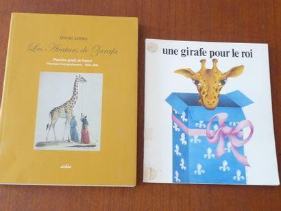 LES AVATARS DE ZARAFA. Première girafe de...