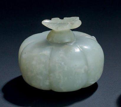 FLACON en forme de citrouille H: 4 cm