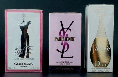 LOT PARFUMEURS Yves Saint Laurent «Parisienne»,...