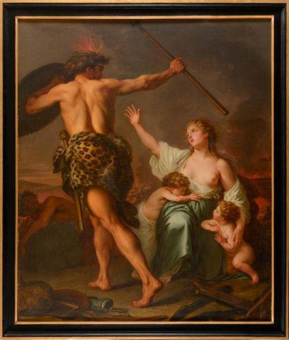 Nicolas-René JOLLAIN, dit le Jeune (Paris, 1732-1804)
