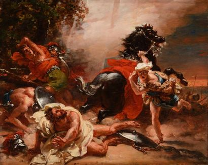 Jean-Pierre FRANQUE (Buis-les-Baronnies, 1774 - Quintigny, 1860)