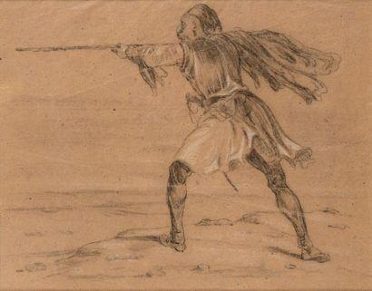 Alexandre-Gabriel DECAMPS (Paris, 1803 - Fontainebleau, 1860)