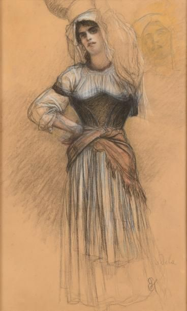 Ernest HEBERT (Grenoble, 1817 - La Tronche, 1908)