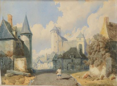 François Louis Thomas FRANCIA (Calais, 1772 - 1839)