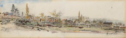 Johan Barthold JONGKIND (Overijssel, Pays-Bas, 1819 - La Côte-Saint-André, 1891)