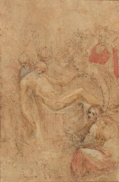 Lorenzo Baccio CIARPI (Barga, 1574 - Rome, 1654), attribué à