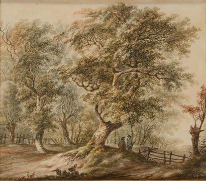 Andreas SCHELFHOUT (La Haye, 1787 - 1870)