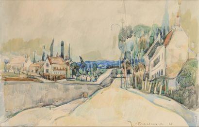 Joseph PRESSMANE (Berestetchko, Ukraine, 1904-Paris, 1967)