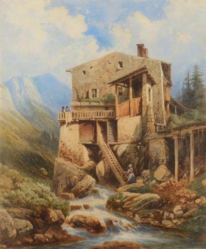 École française ou Suisse du XIXe siècle
