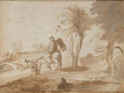 Pier Francesco MOLA (Coldrerio, 1612 - Rome, 1666)